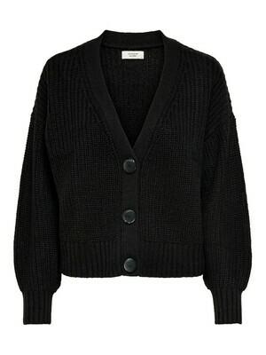 Knitwear korte vest - NOLA - zwart
