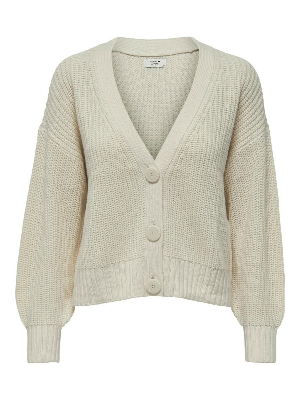 Knitwear korte vest - NOLA - écru