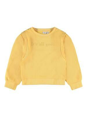 KIDS Trui sweater - BERIE - geel