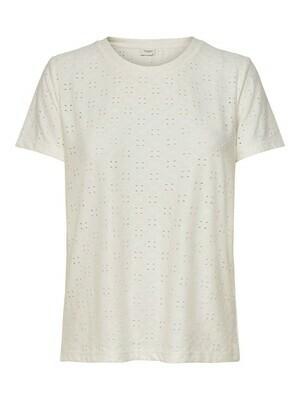 T-shirt met korte mouwen - CATHINKA - wit