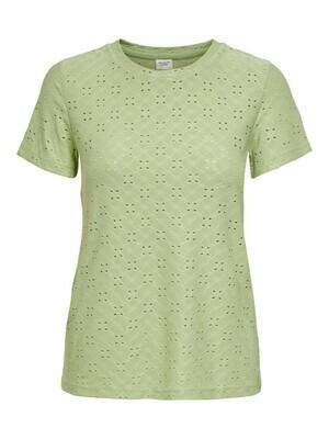 T-shirt met korte mouwen - CATHINKA - pastelgroen