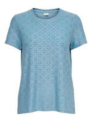 T-shirt met korte mouwen - CATHINKA - blauw