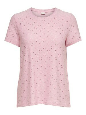T-shirt met korte mouwen - CATHINKA - lila/roze