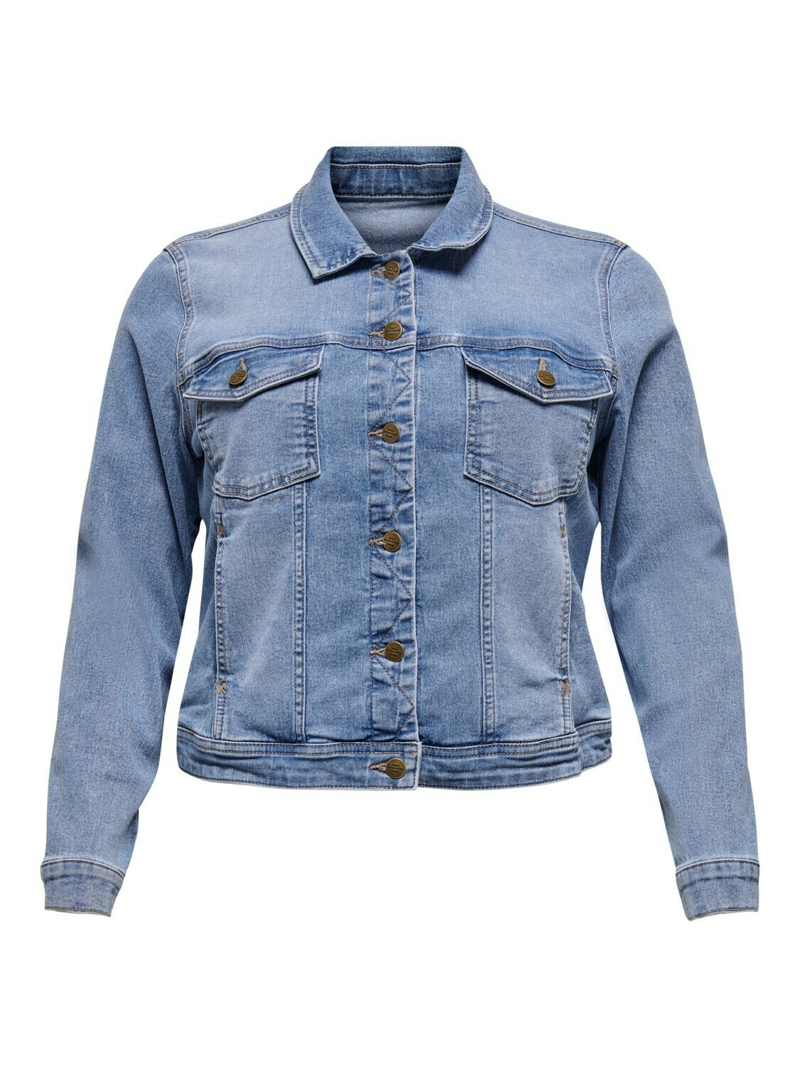 + Jeansjas - WESPA - light blue