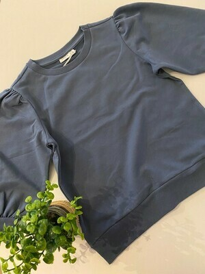 KIDS Trui sweater driekwart mouw - FEKORT - blauw