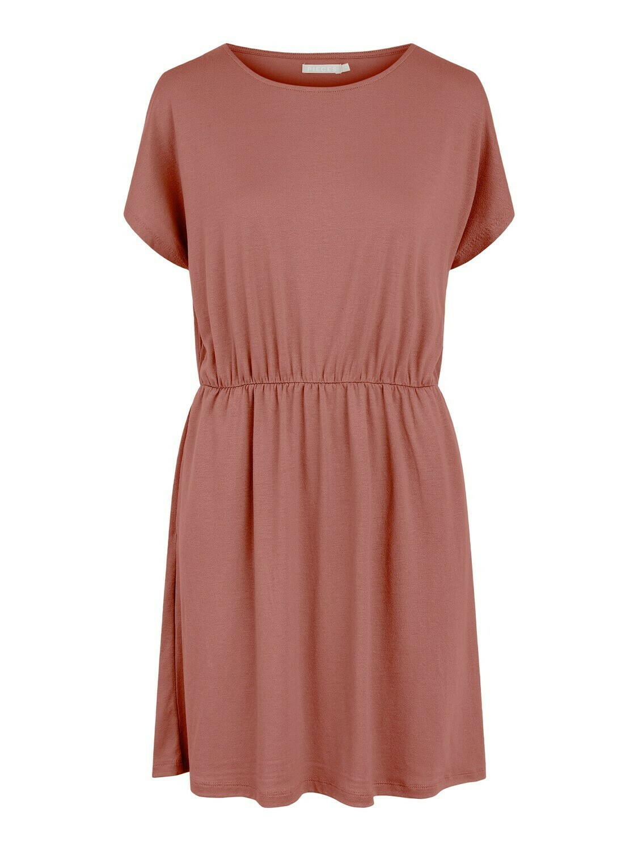 Korte jurk - PETRINE - donker oudroze