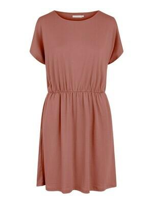 * Korte jurk - PETRINE - donker oudroze