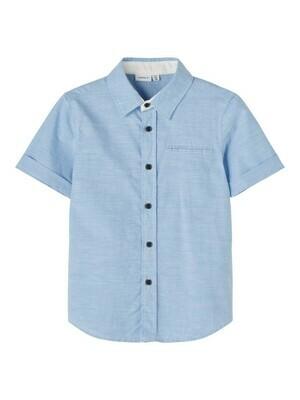 *  KIDS Hemd met korte mouwen - FUGL - blauw