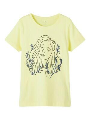 KIDS T-shirt - FRIGGA - geel