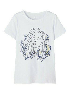KIDS T-shirt - FRIGGA - wit