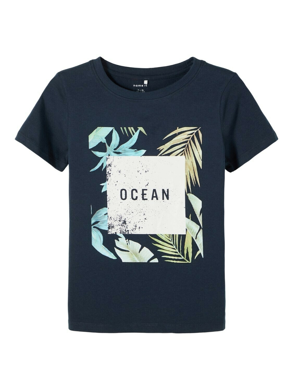 KIDS T-shirt - FACER - donkerblauw