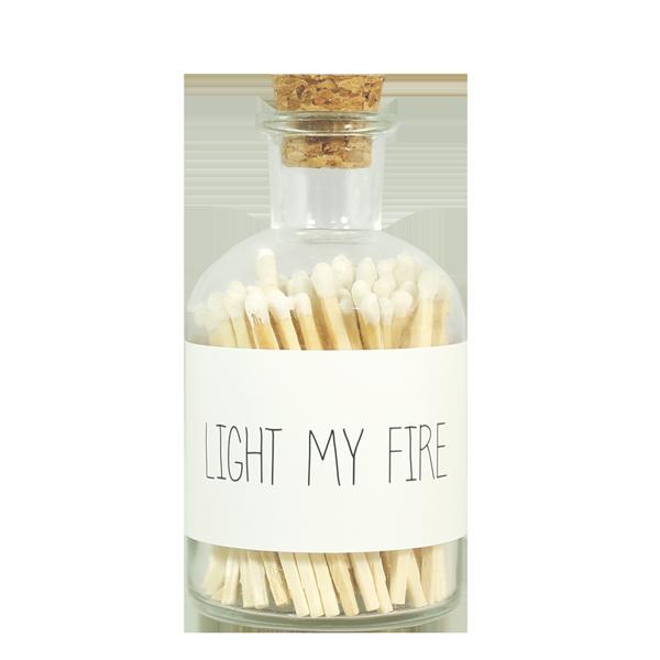 Matches - LIGHT MY FIRE - wit
