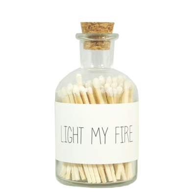 Matches - LIGHT MY FIRE - wit