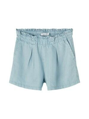 KIDS Broek jeansshort - BECKY - light blue