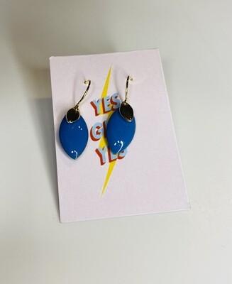 Hangoorbellen - YES GIRL YES - koningsblauw
