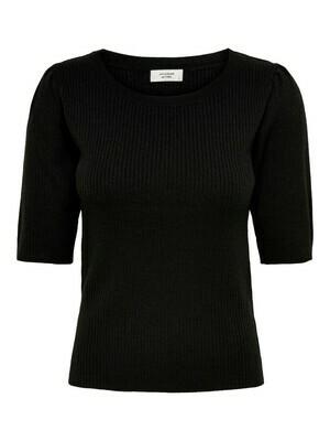 Knitwear top - LINA - zwart
