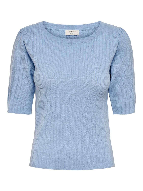Knitwear top - LINA - lichtblauw