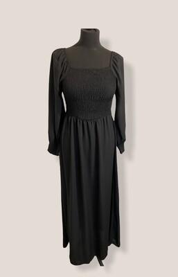 * Maxi jurk - MINA - zwart