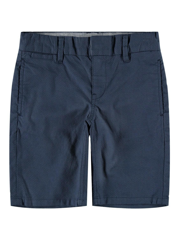 KIDS Short - RYAN - donkerblauw/kleine stipjes