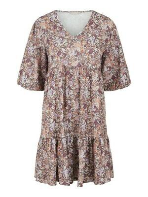 * Korte jurk - LEASTE - vintage print