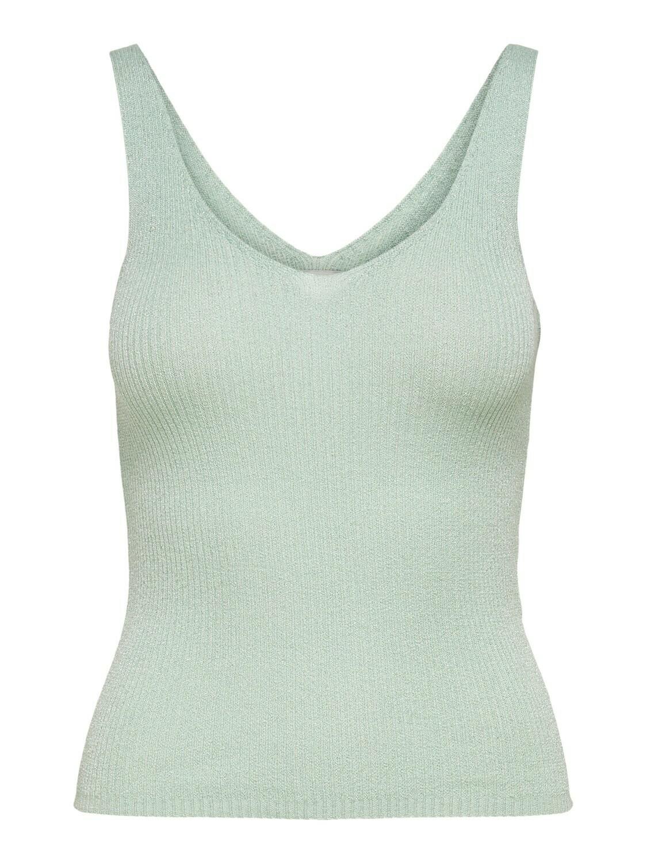Knitwear top - BODILLA - muntgroen