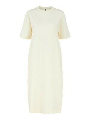 Midi jurk sweat - TALULA - buttercream