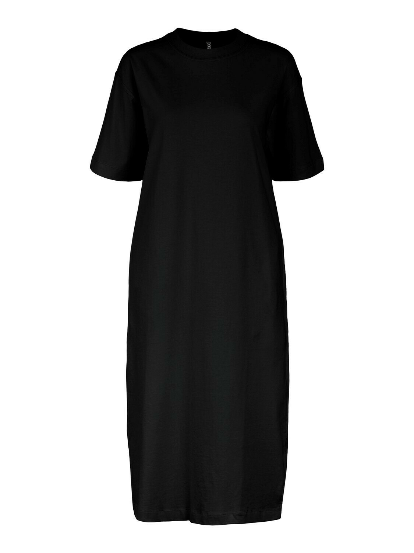 Midi jurk sweat - TALULA - zwart