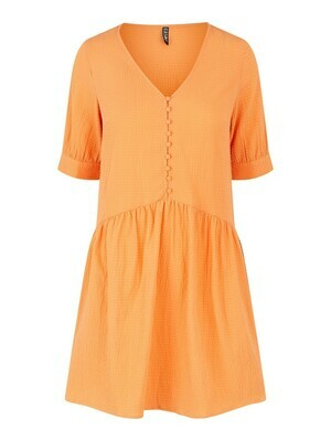 * Korte jurk - GENEVA - oranje