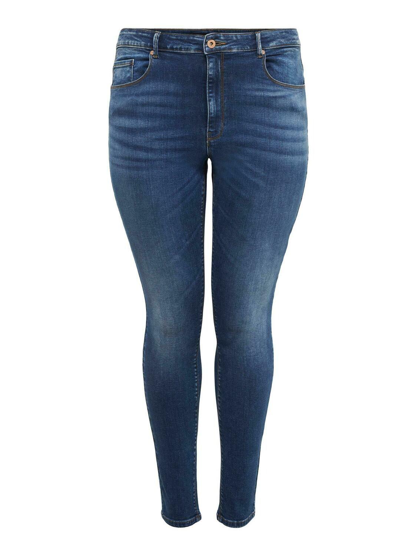 + Jeans hoge taille - LAOLA - medium blue