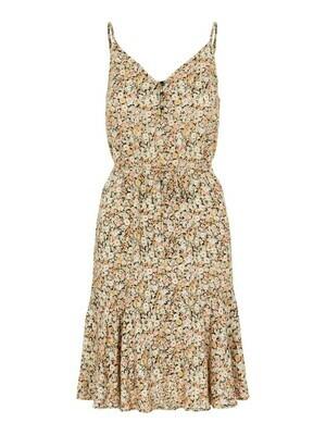 * Korte jurk - NYA - zwart/pastelbloemen