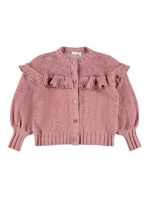 KIDS korte vest - LOMIA - roze