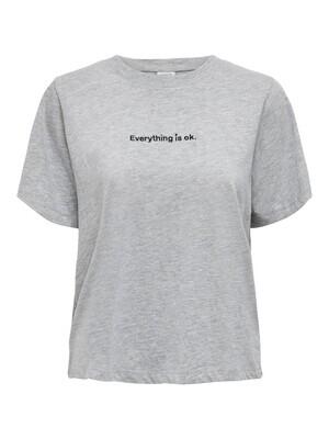 T-shirt - FELISA - grijs