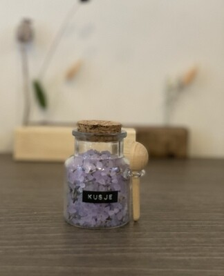 Badzout - KUSJE - lavendel