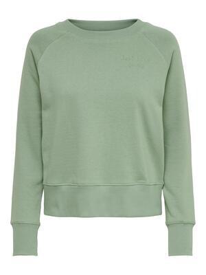 Sweater - DIANNA LIFE - muntgroen