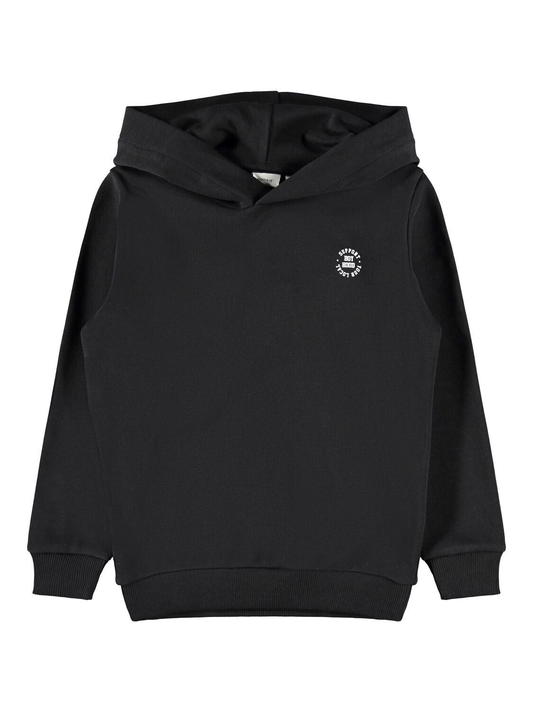 KIDS Hoodie/sweater trui - LESCOTT - zwart