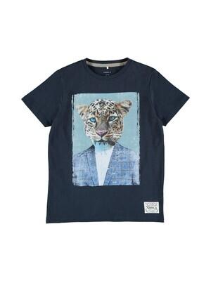 KIDS t-shirt - KAJAB - donkerblauw