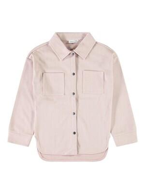 KIDS overshirt - KENIA - roze/wit