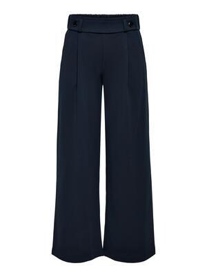 Wijde lange broek - GEGGO - donkerblauw