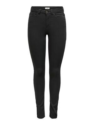 Skinny jeans - LARA LIFE - zwart