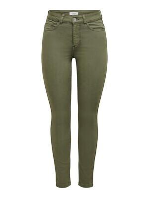Skinny jeans - LARA LIFE - kaki