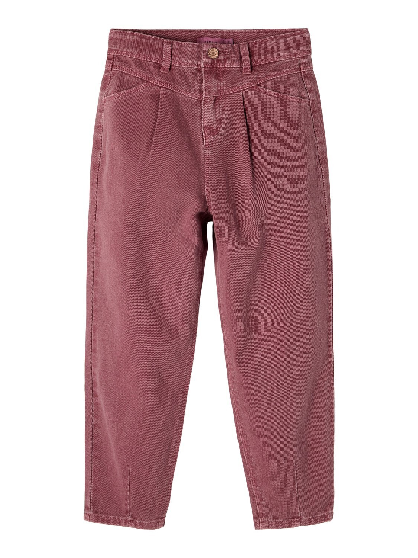 KIDS Mom jeans - ROSE - oudroze