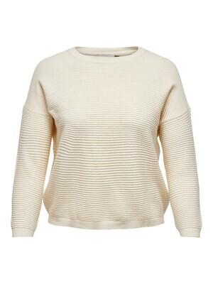 + Trui knitwear - KARIA - beige