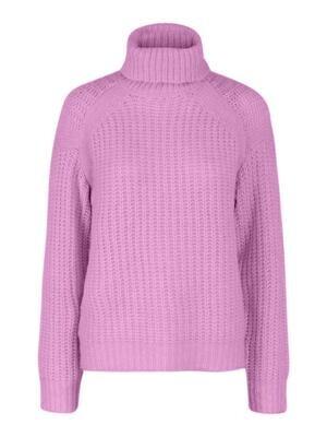 Knitwear turtleneck trui - FRESH - roze