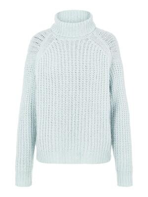 Knitwear turtleneck trui - FRESH - blauw