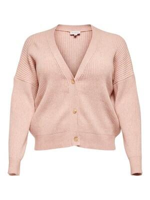 + Cardigan - KARIA - roze