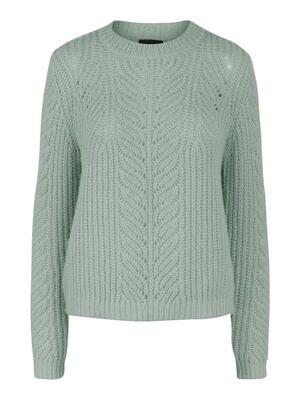 Knitwear trui - FIRE - groen
