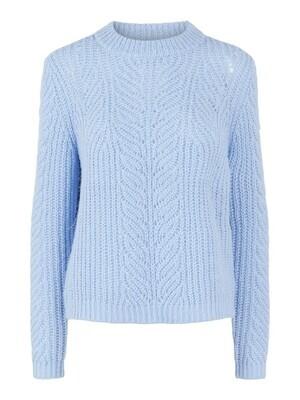 Knitwear trui - FIRE - blauw