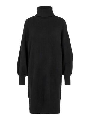 Midi jurk - FABIA - zwart