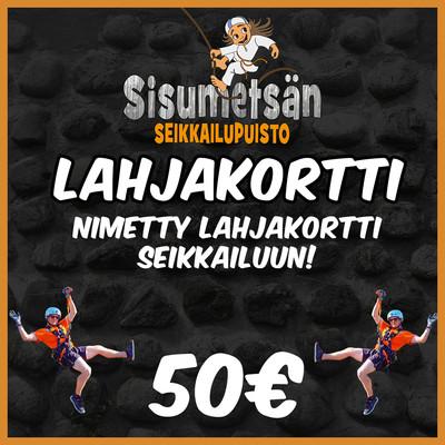 Lahjakortti Seikkailupuisto 50€