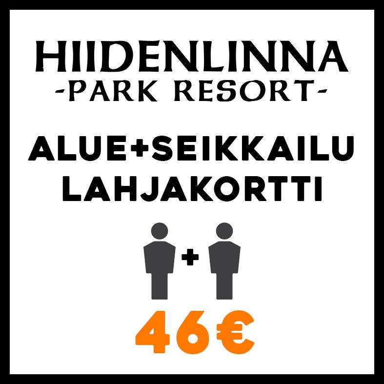 Yhdistelmälippu-lahjakortti 46€